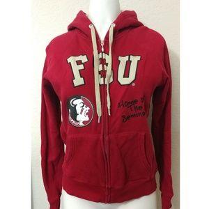 FSU Florida State University red hoodie size s